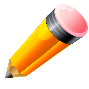 a fat pencil
