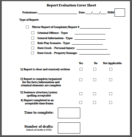 Report evaluation cover sheet yourpolicewrite thecheapjerseys Choice Image