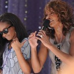 Bobbi Kristina Brown and her mother, Whitney Houston