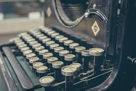 typewriter old ok