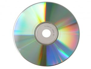 a compact disk or CD