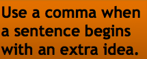 Comma Rule 1