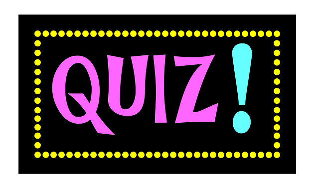 "the word ""quiz"""